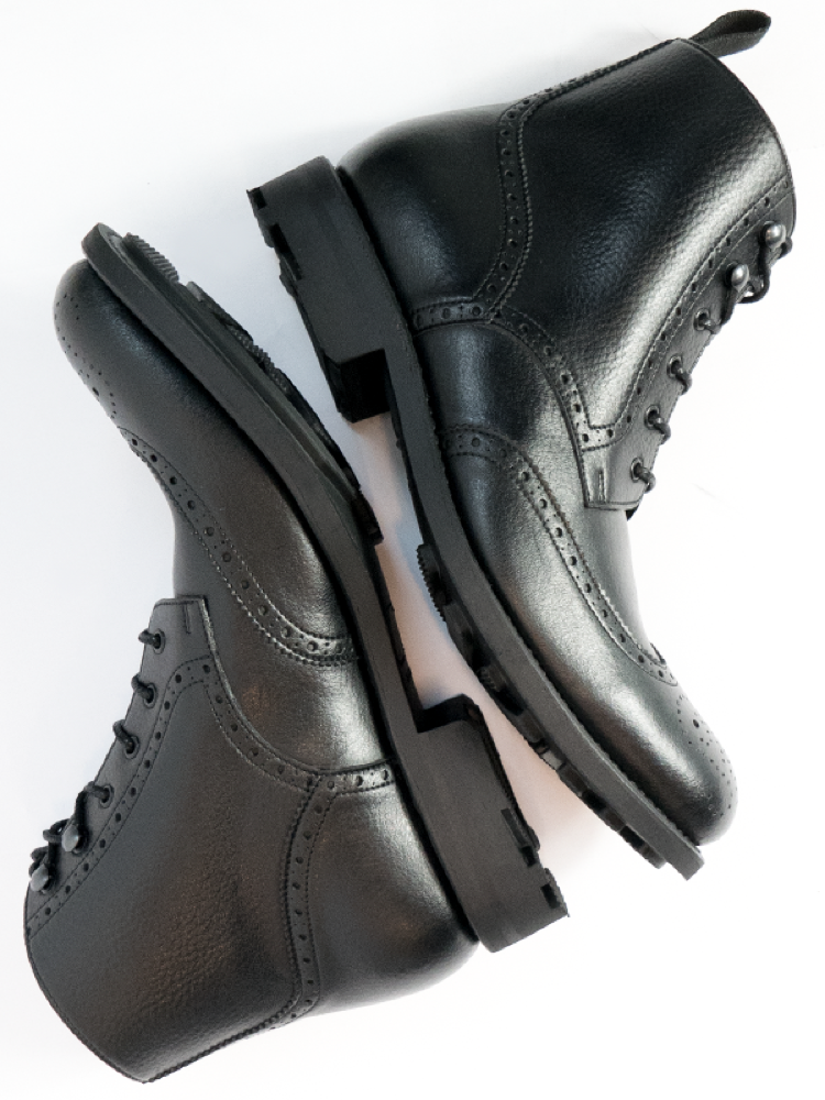 Will's Vegan brogue boots for Christmas Gift Guide.png
