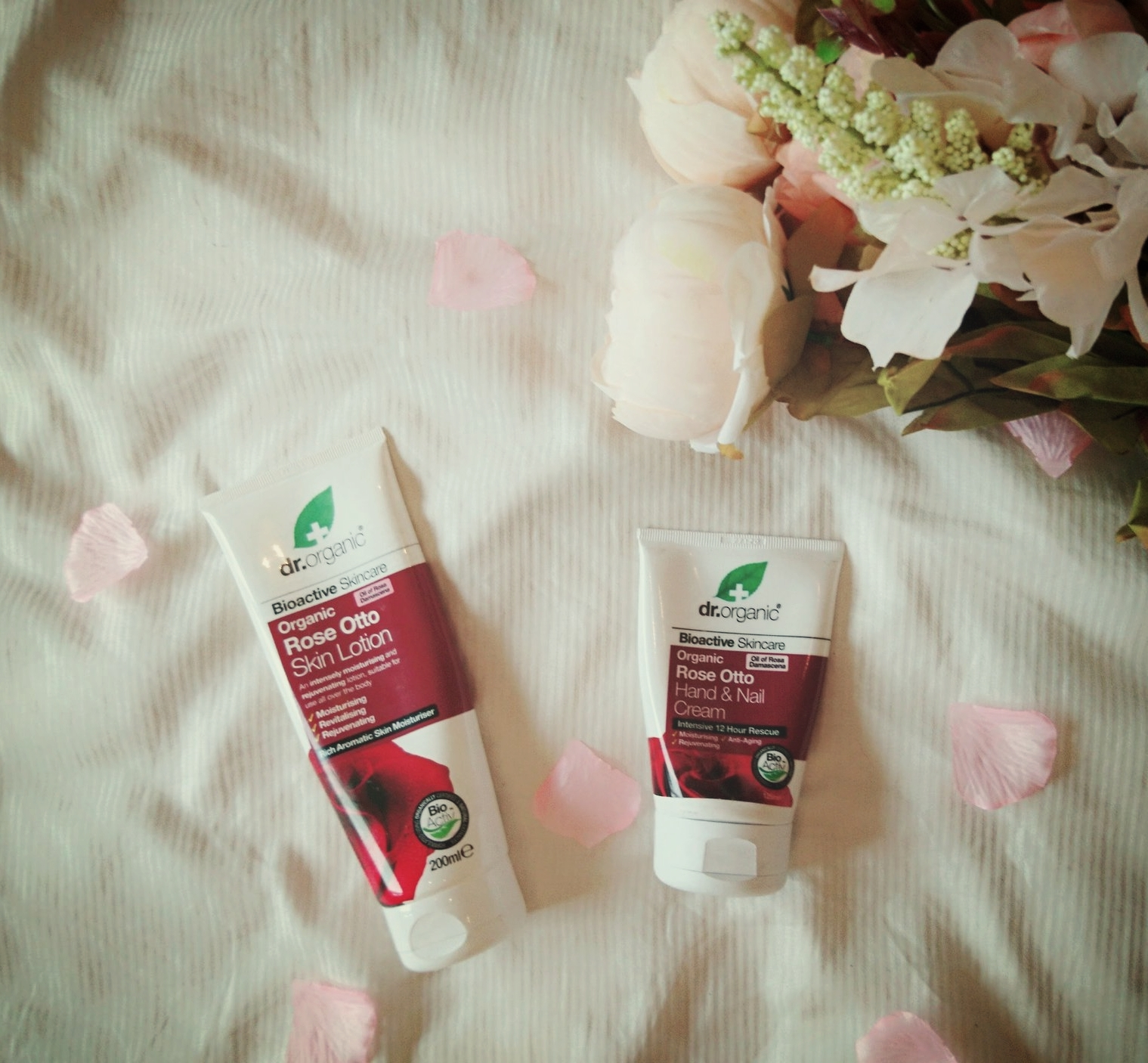 Dr Organic Rose Otto Hand and Body Lotion