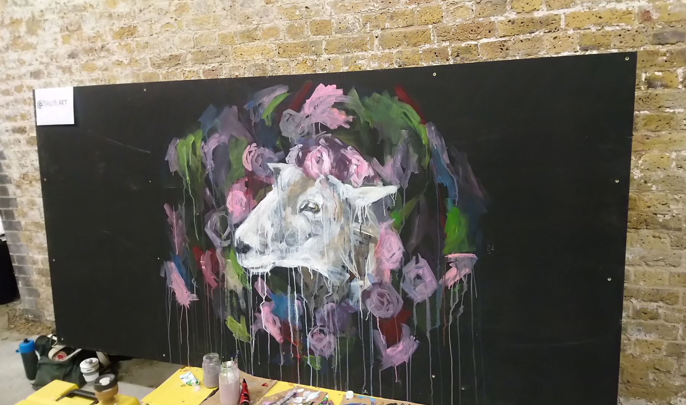 Art at It's a Vegan Ting