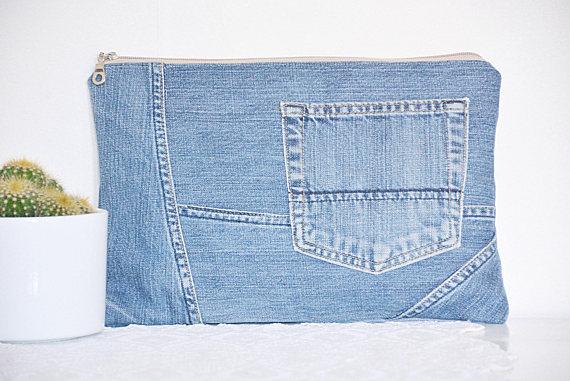 Kriste Design Recycled Denim Bag
