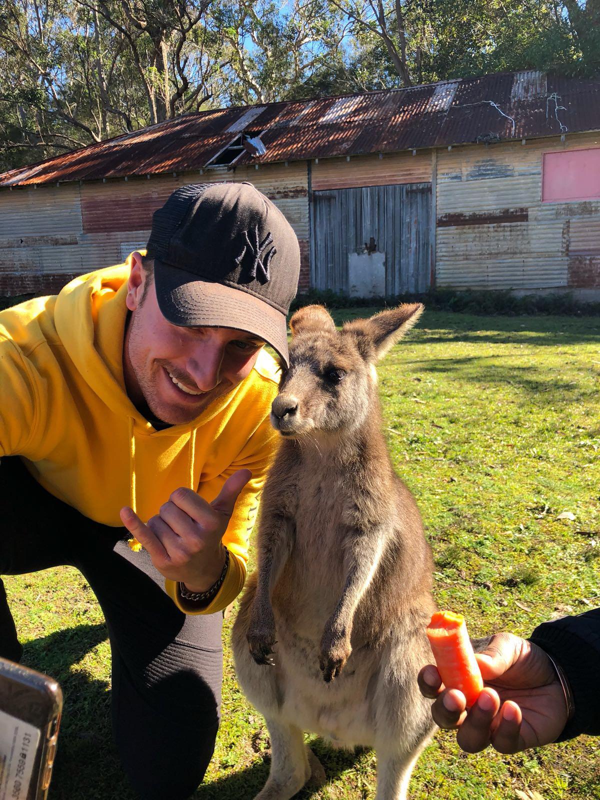Tennis traveling in Australia