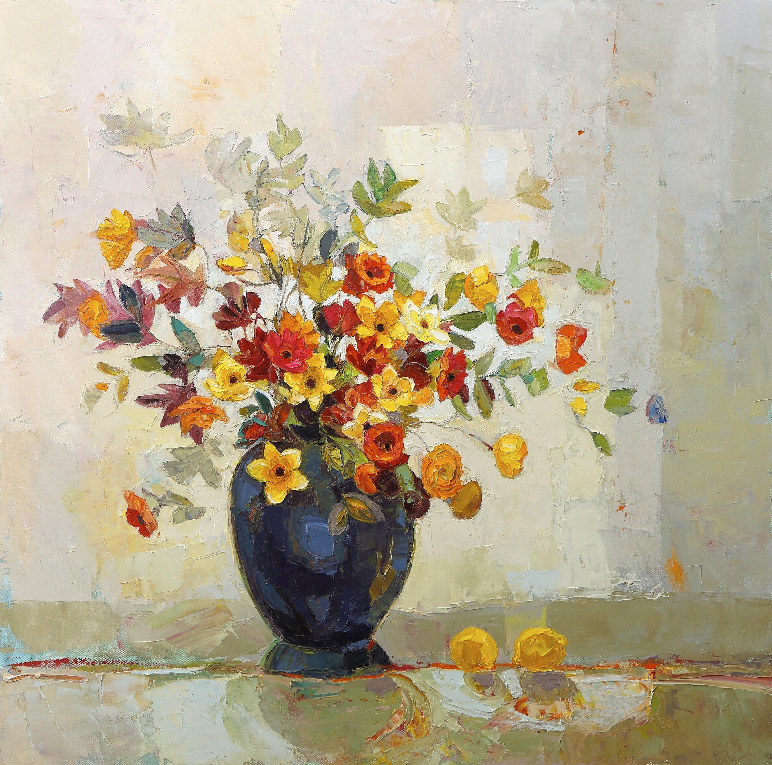 Title: Convivial Big Bunch  Size: 30x30  Medium: Oil on Canvas  Price: £4950