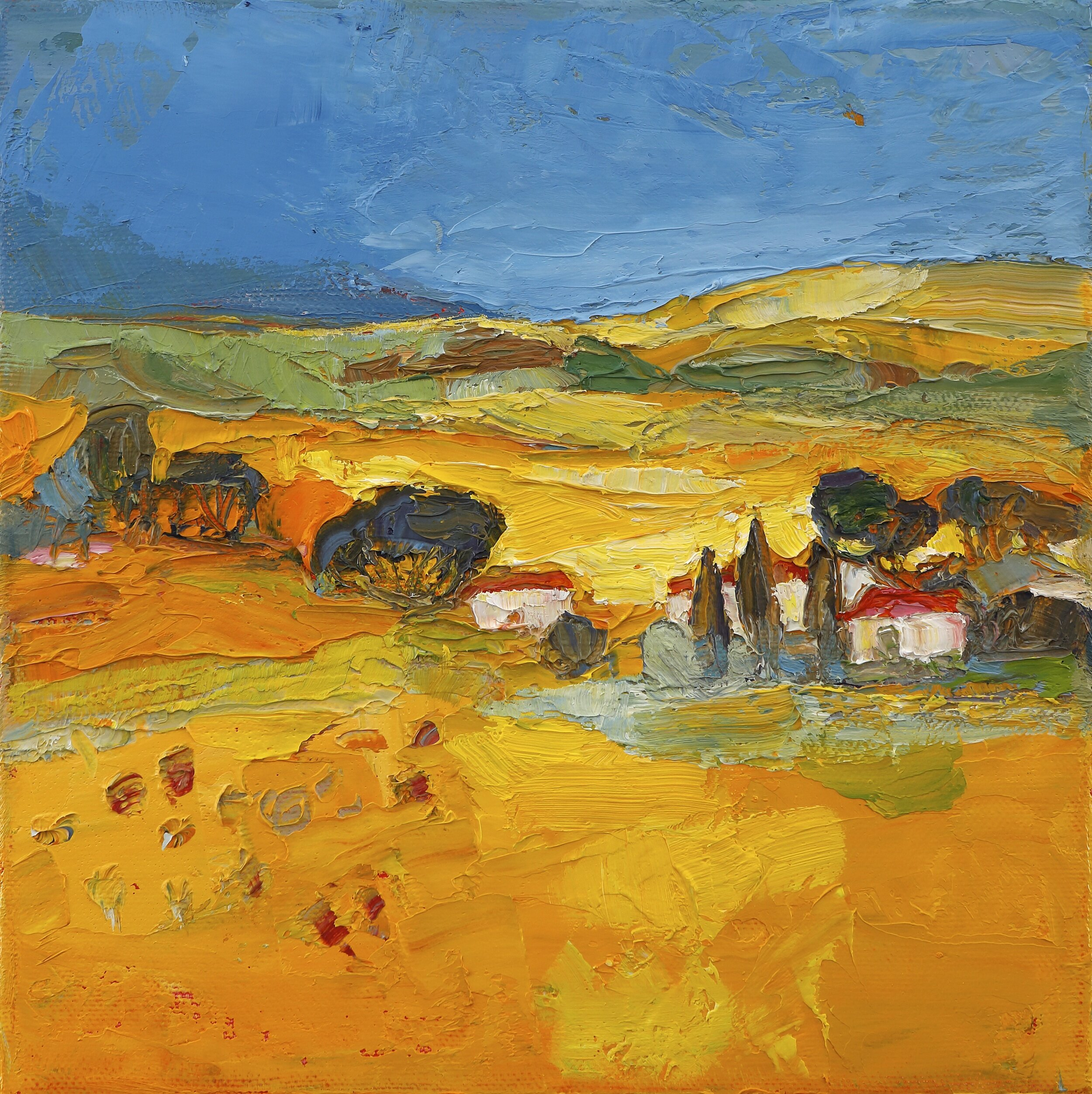 Title: Little Acre  Size: 8x8in  Medium: Oil on Canvas  Price: £950