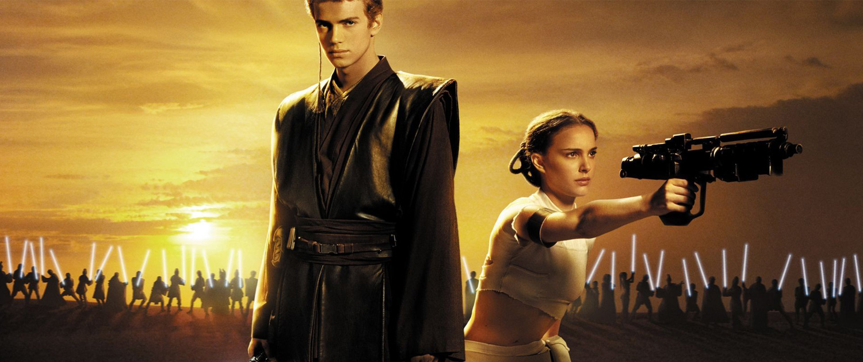 Pictured: Hayden Christensen and Natalie Portman battle to be taken seriously ever again
