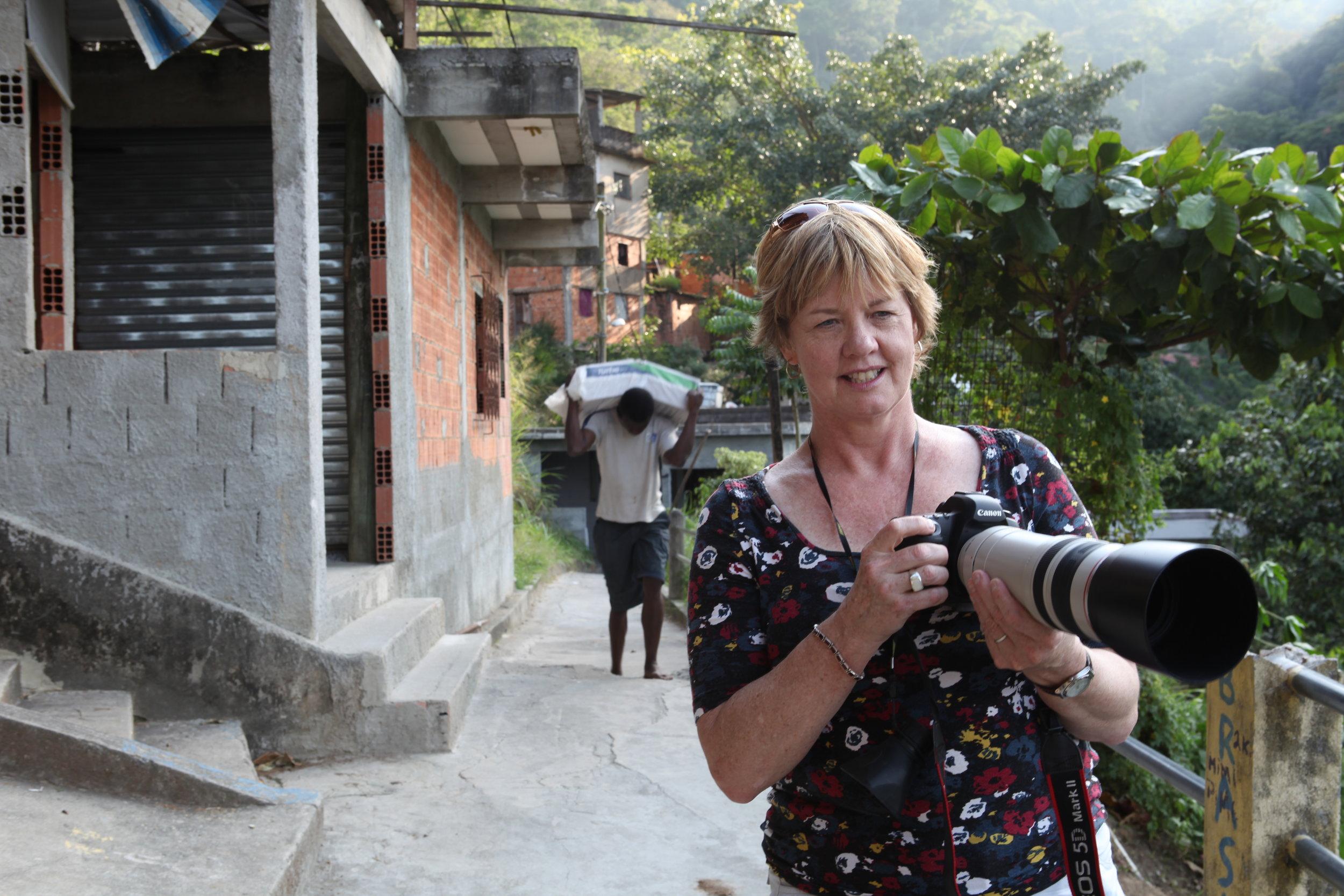 Rio favelas-shooting for a Humanitarian organisation