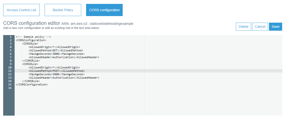 CORS configuration S3 static website.png
