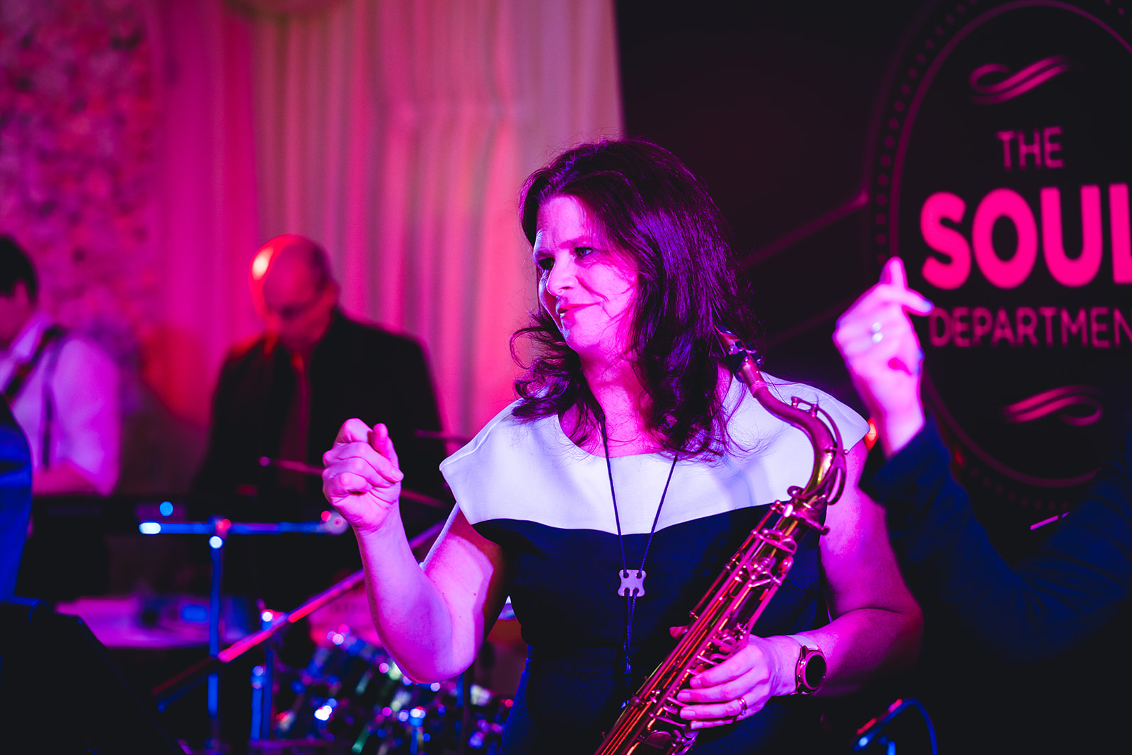 'In-house' wedding for our special saxophonist and guitarist, Abi and Ewan 8/2/19 - courtesy  https://thedignums.com/