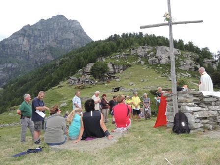 06.07.14 Messa al Alpe Tenc -