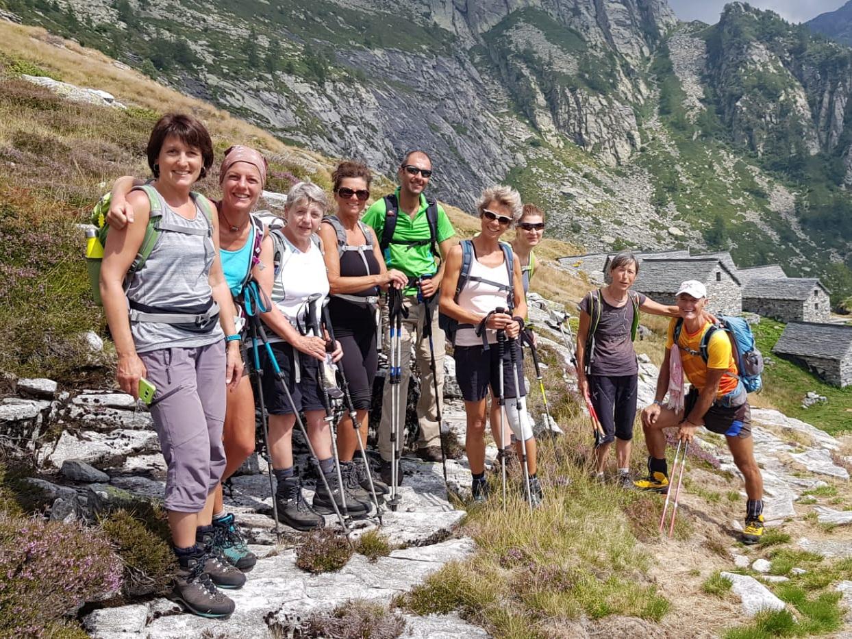 18.08.19 Bignasco - Lago Chignolasc - cap. Spluga - Giumaglio -