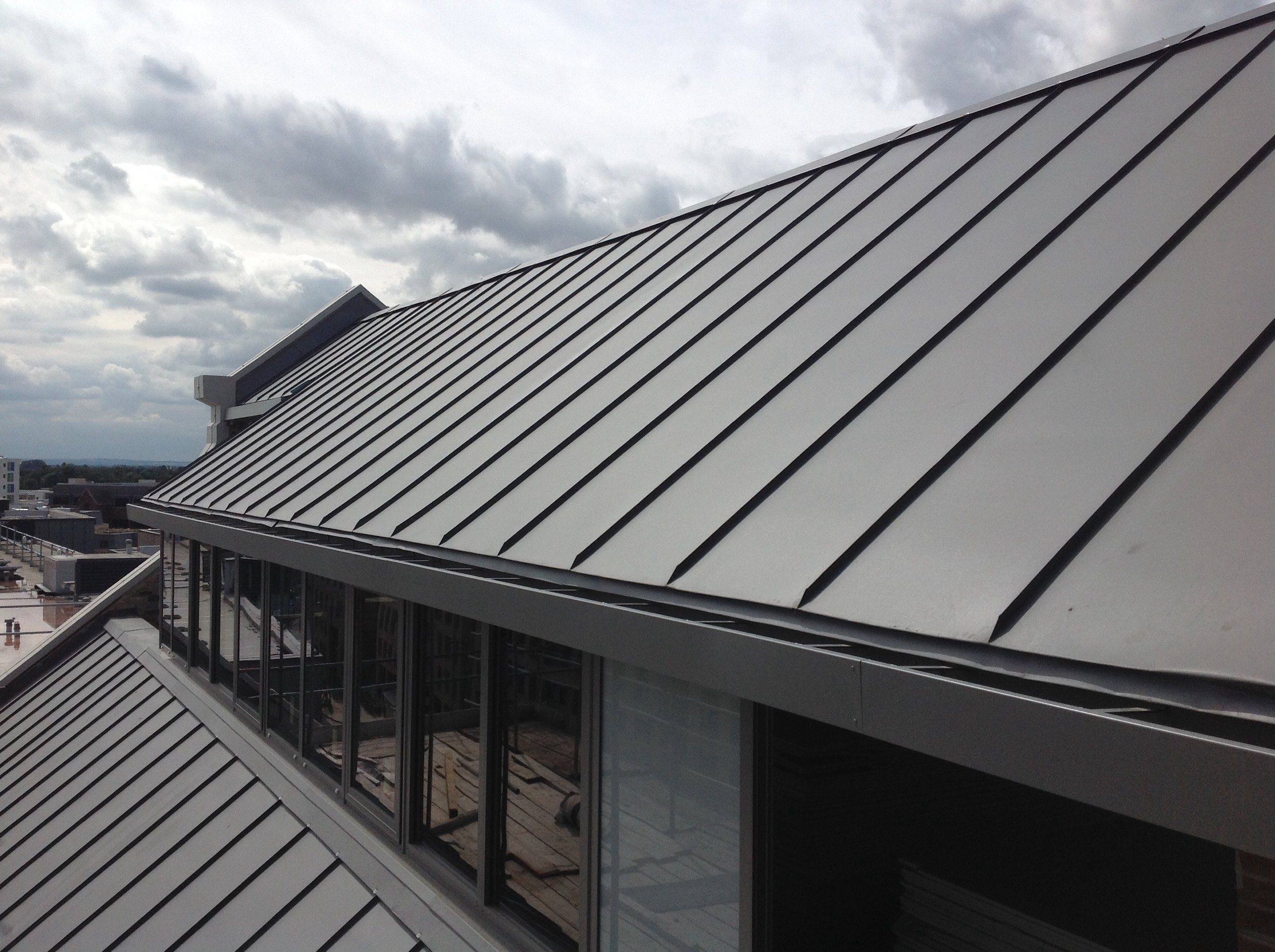 Distinctive appearance - Whether you're an architect, specifier, developer or home owner, GreenCoat PLX will ensure your project stands apart …… market-leading material warranties, simple and straight-forward installation details which are supplied to your experienced metal roofer, all help ensure you achieve a great finish to your roof or façade.