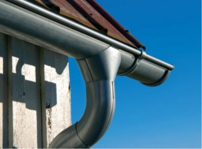 Lindab Magestic - Lindab Magestic gutters and downpipe. A Lindab special finish ideal for coastal locations