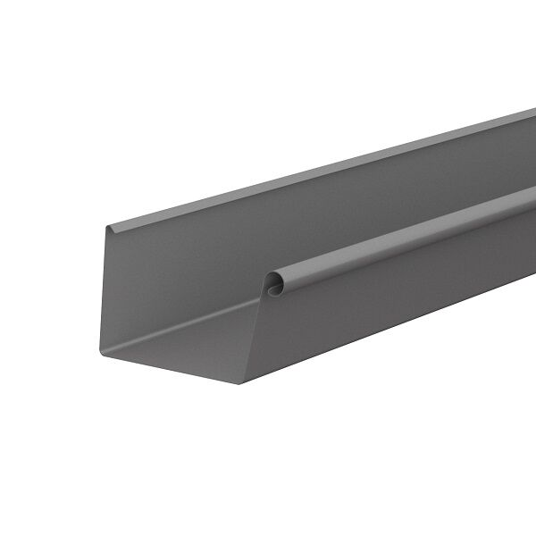 Lindab Rectangular Gutter .. - Extra 10% of any orders of our Quartz grey rectangular AND half round gutters on any orders placed this week