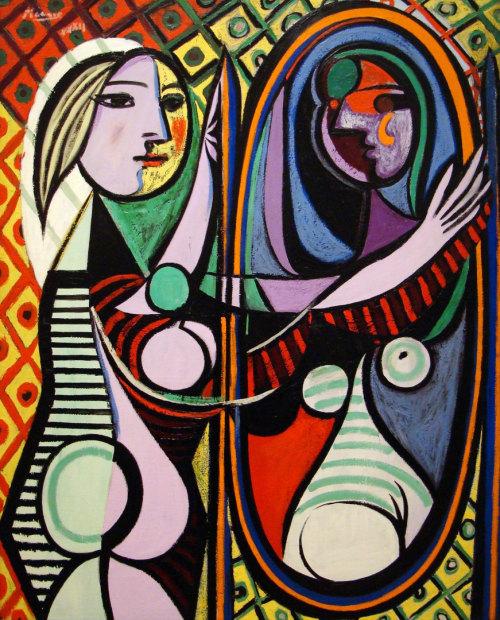 """""""Mujer Frente al Espejo"""", 1932, Pablo Picasso."""