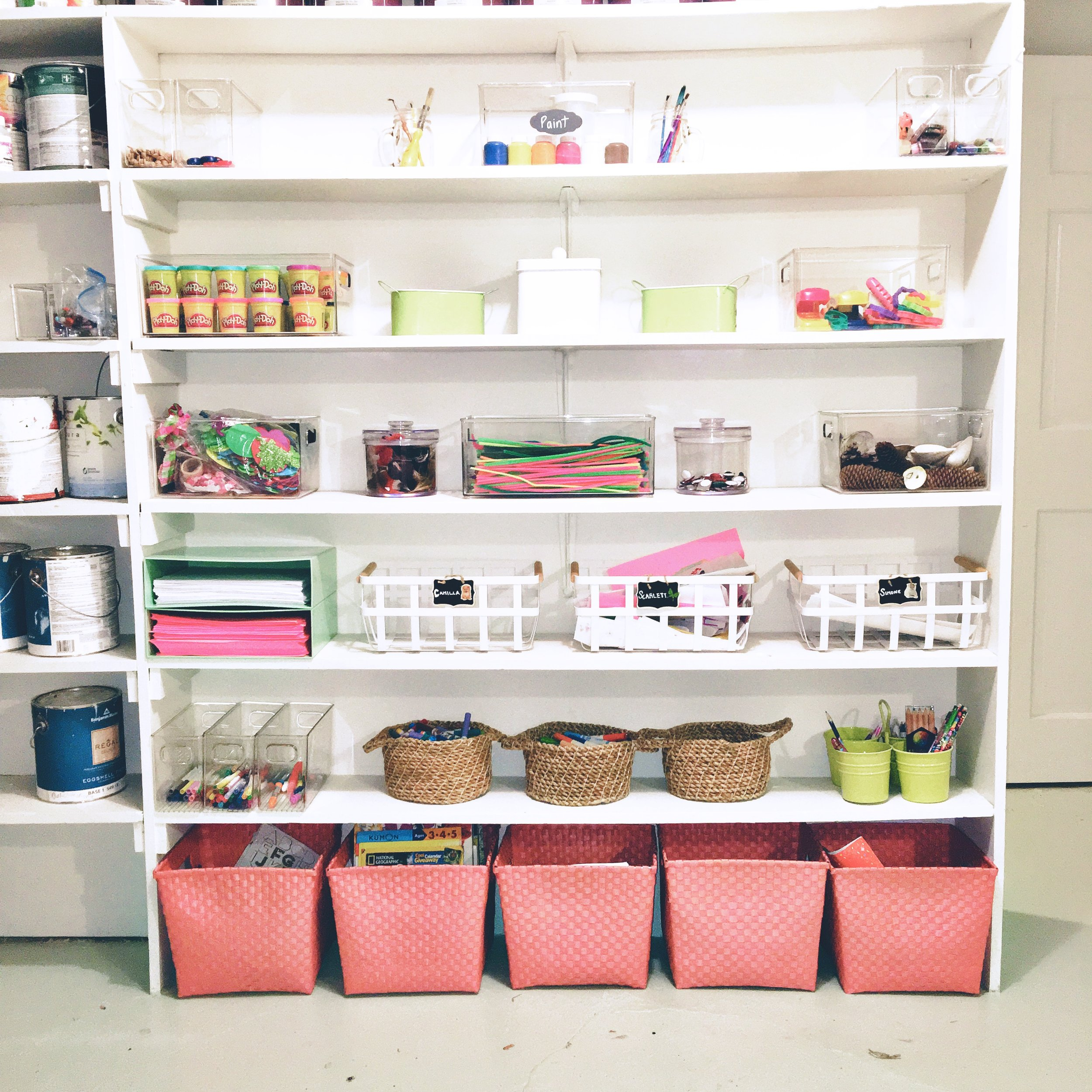 Shelfie_Kids_Organized Art Room