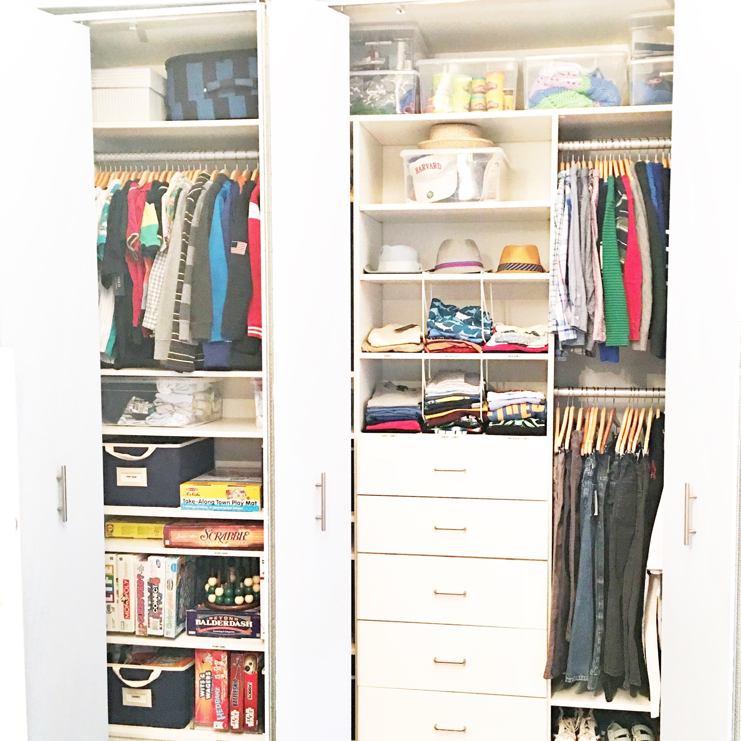 Shelfie_Kids_Organized Kids Closet