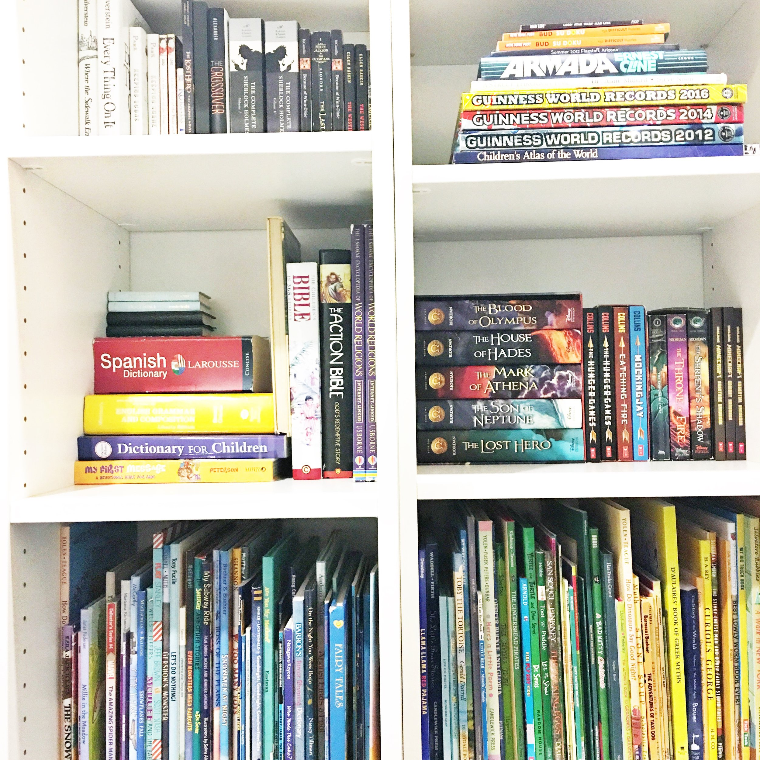 Shelfie_Kids_Organized Books