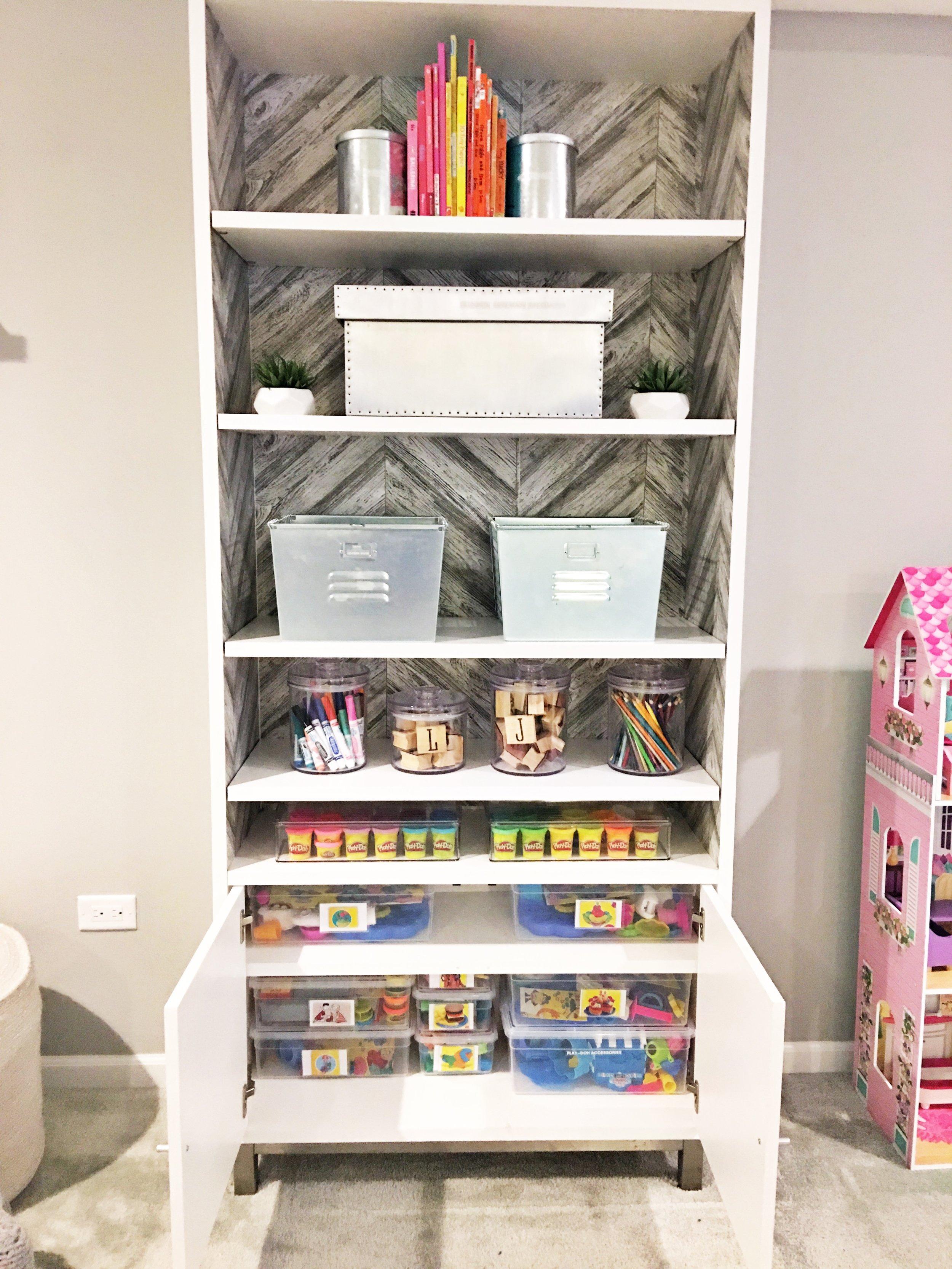 Shelfie_Kids_Organized Art Supplies