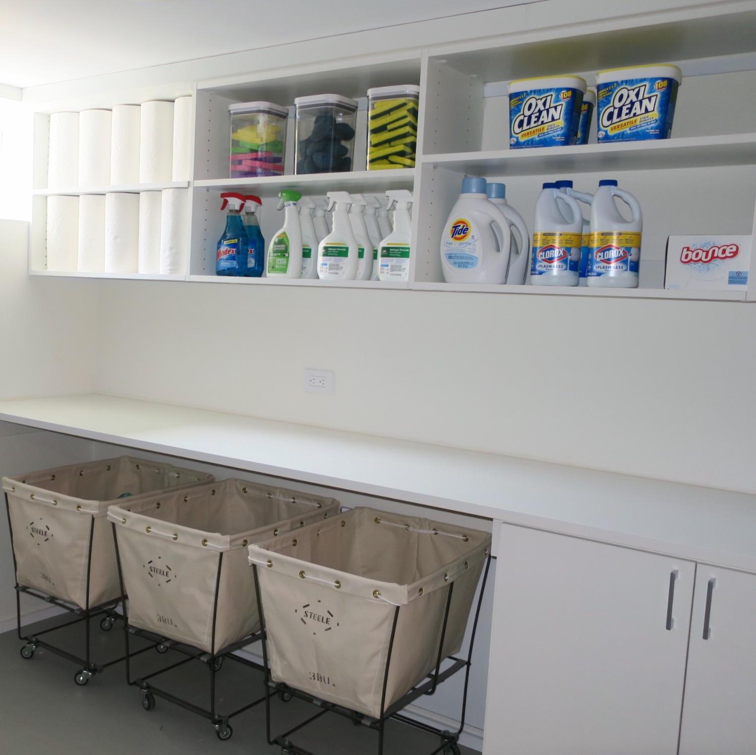 Shelfie_Organizing_Laundry Room_Hamptons Home_Utility Space