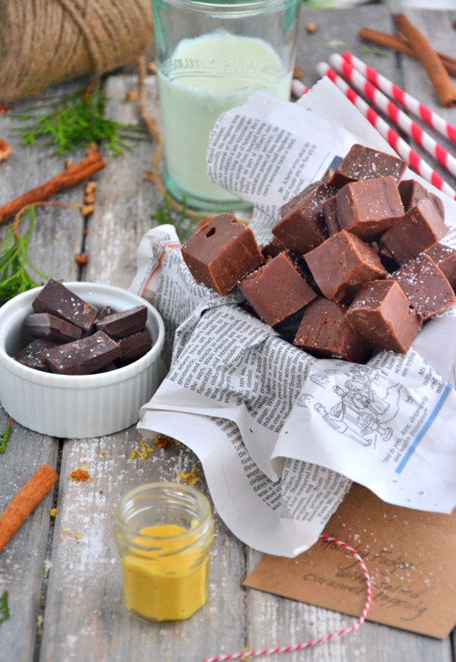 The Best 5 Ingredient Fudge - AKA similar to Honey Mama's