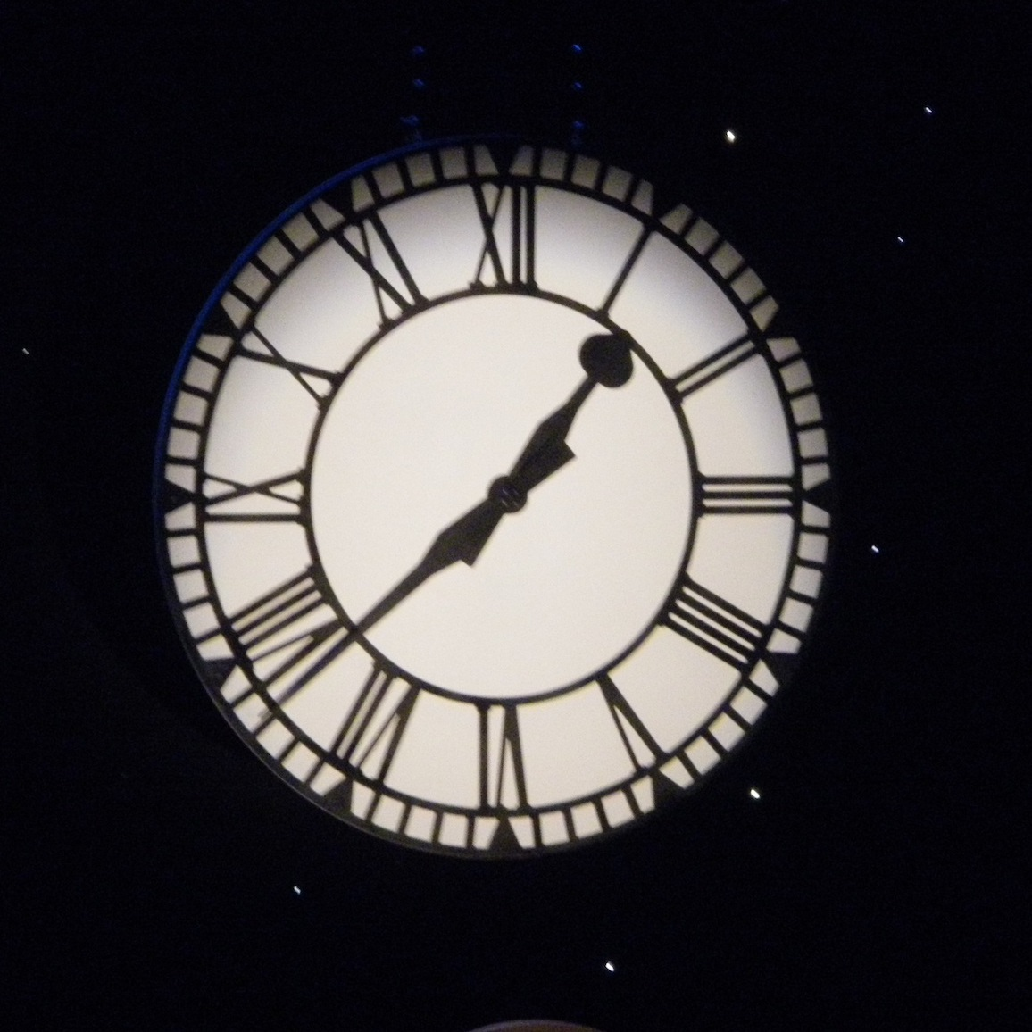 Clock Face - We've made a few versions of this clock for Cinderella's and other shows. The largest we made was 2.4m in diameter.