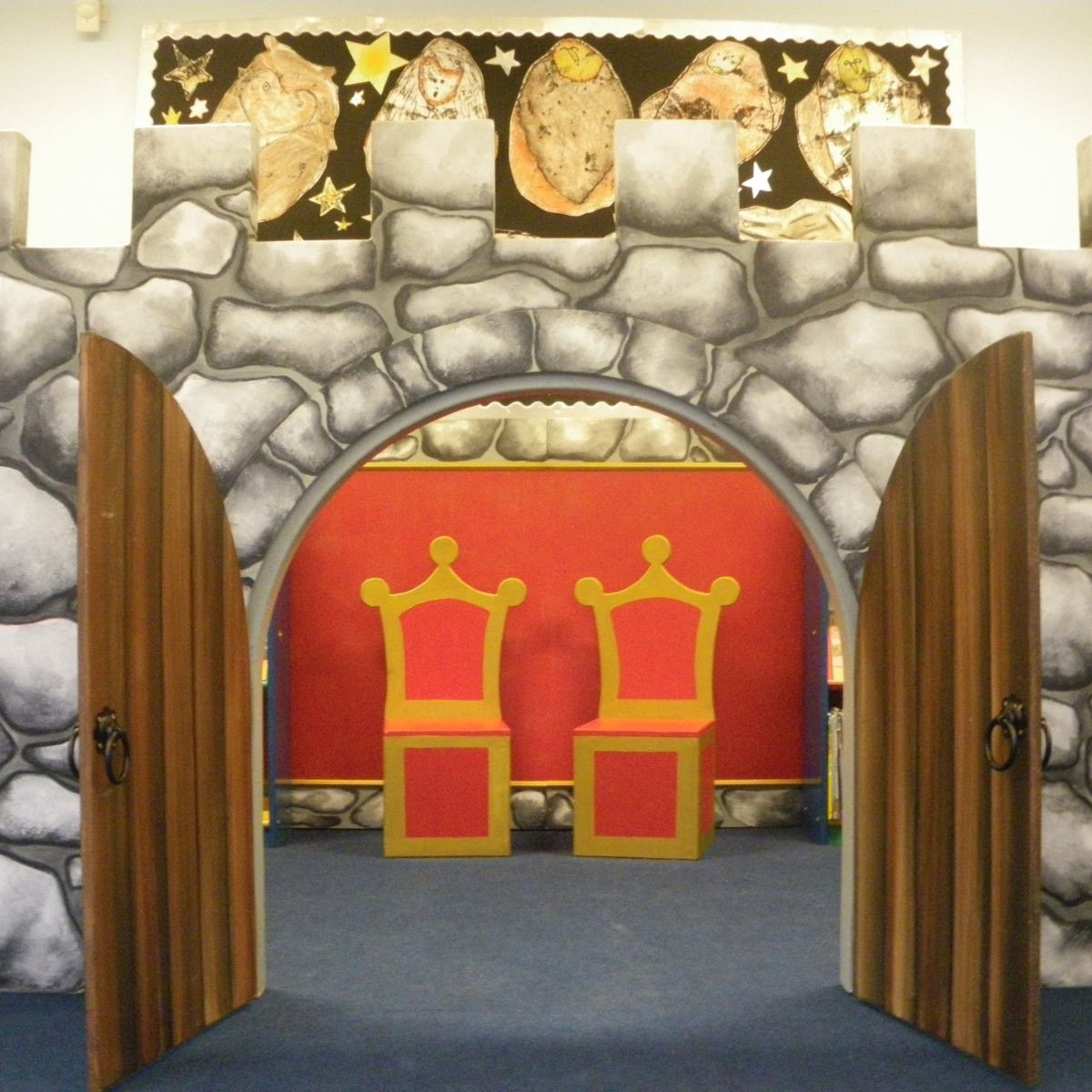 Castle Library and Creative Play Space -