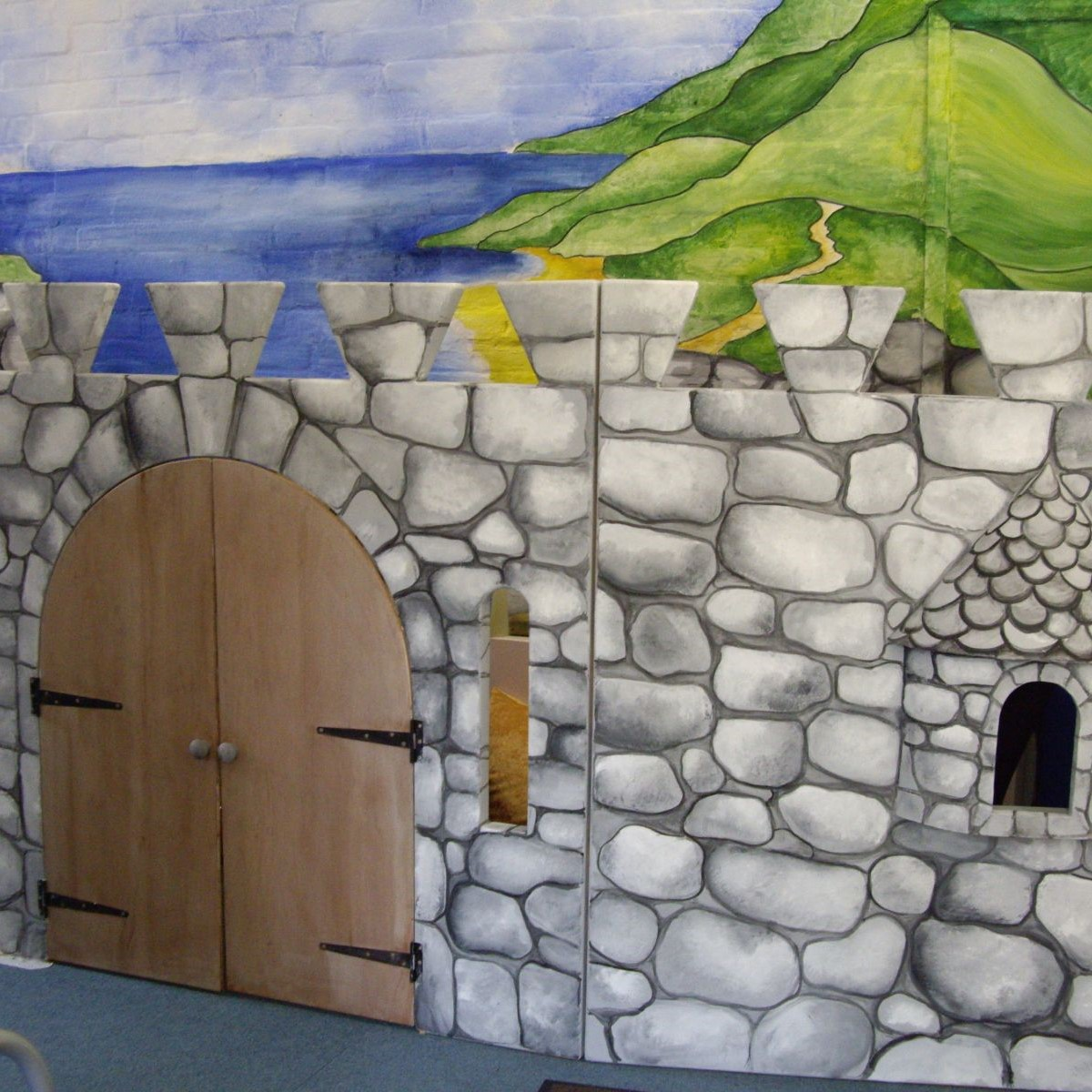 Primary School Creative Play Space -
