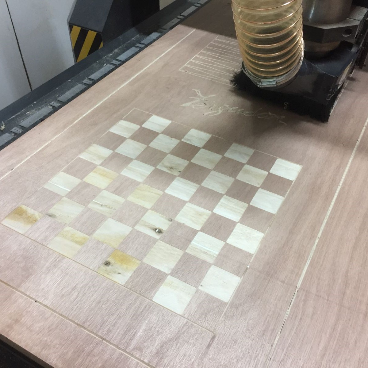 CNC Routed - Here you can see some of the other varied tasks our CNC router has been set to.