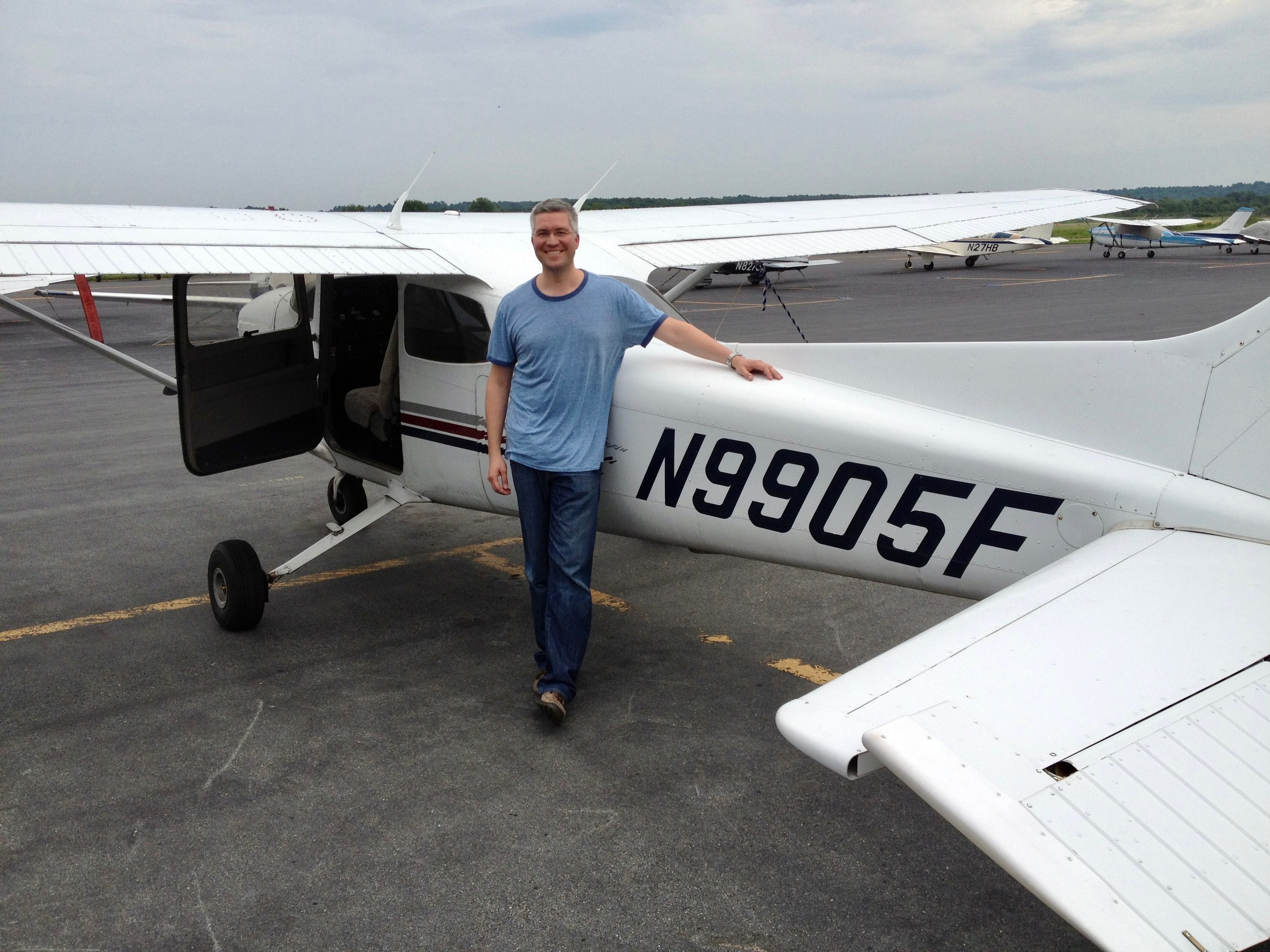 First Solo, July 7, 2012, Norwood, MA (KOWD)