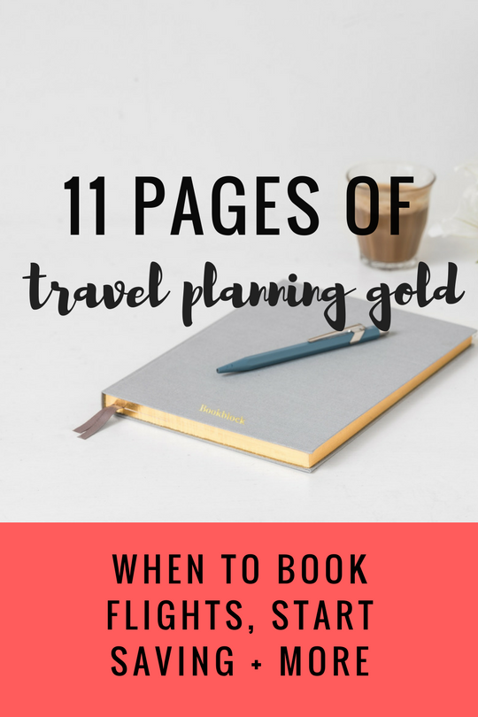 11 Pages of Travel Planning gold.png