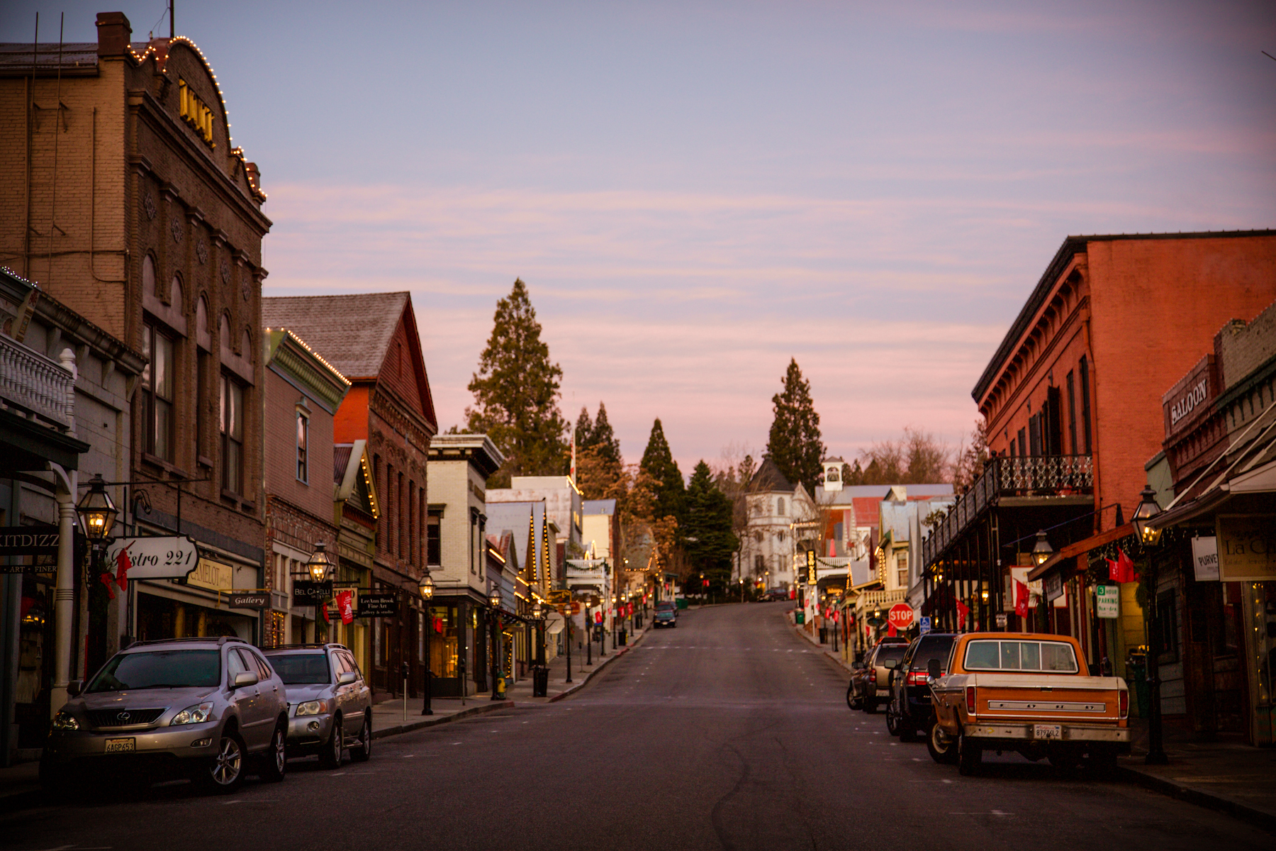 Downtown Nevada City, photo courtesy of Erin Thiem