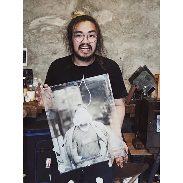 """#ChanEvent this Thursday 11th July (7:30pm) features a giant 16x20"""" wetplate! Come along to get yourself in the group photo we'll be taking and stick around to hear Nick Simpson ( @gascoigne_simpson ) talk about his eccentric great grandfather's work and the stories behind the photographs. • DRINKS AND VOLES WILL BE SERVED! *Event may contain: NADGERING, NURDLING, NUDITY, GLUTTONY, LADIES ANKLES, CHICKEN FANCIERS and STEAM POWERED PERSONAL PROPULSION DEVICES* (Did we mention DRINKS?) • RSVP to chandarkroom@gmail.com or visit www.chanphotographic.com/Chan-event •  #filmsnotdead #analogue #darkroom #darkroomprint #film #filmphotography #chanphotographic #wetplate #collodion #ambrotype #largeformat #wetplatecollodion"""
