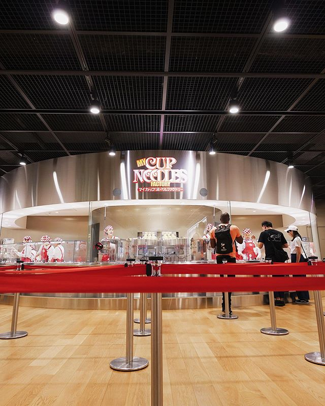The @originalcupnoodles museum experience 🍜 Great way to spend a morning in Osaka 🇯🇵 #cupnoodles #cupnoodle #cupnoodlemuseum #osaka #ikeda #ikedaosaka #museum #tourists #pork #egg #morestuff #jael