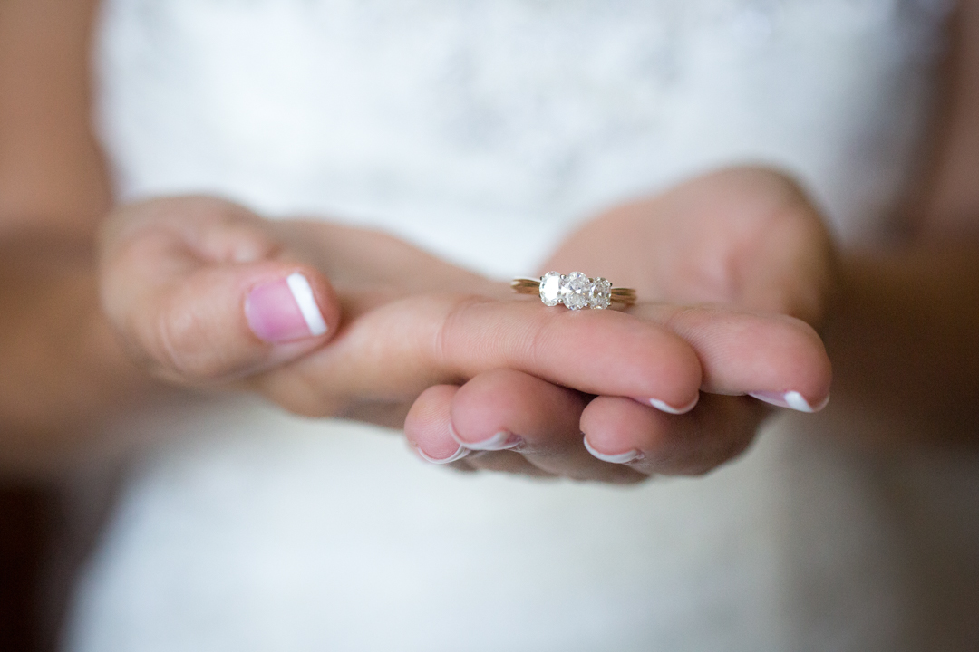 This was Miranda's grandmother's ring. I just love these little sentiments laced throughout a wedding day.