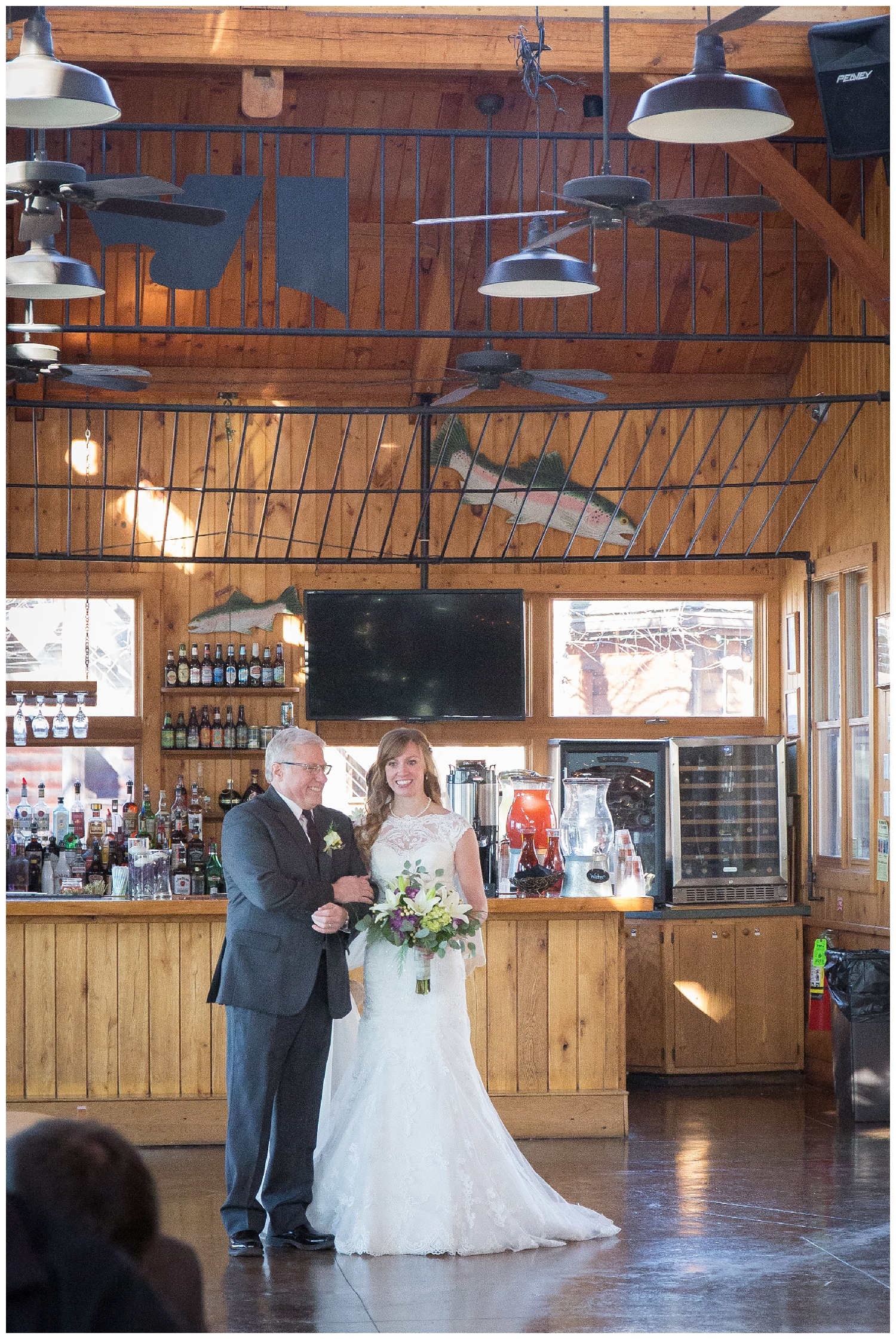 Erika and Zach say I DO at Smokey's Adventure on the Gorge in WV Maryn Graves Productions Weddings