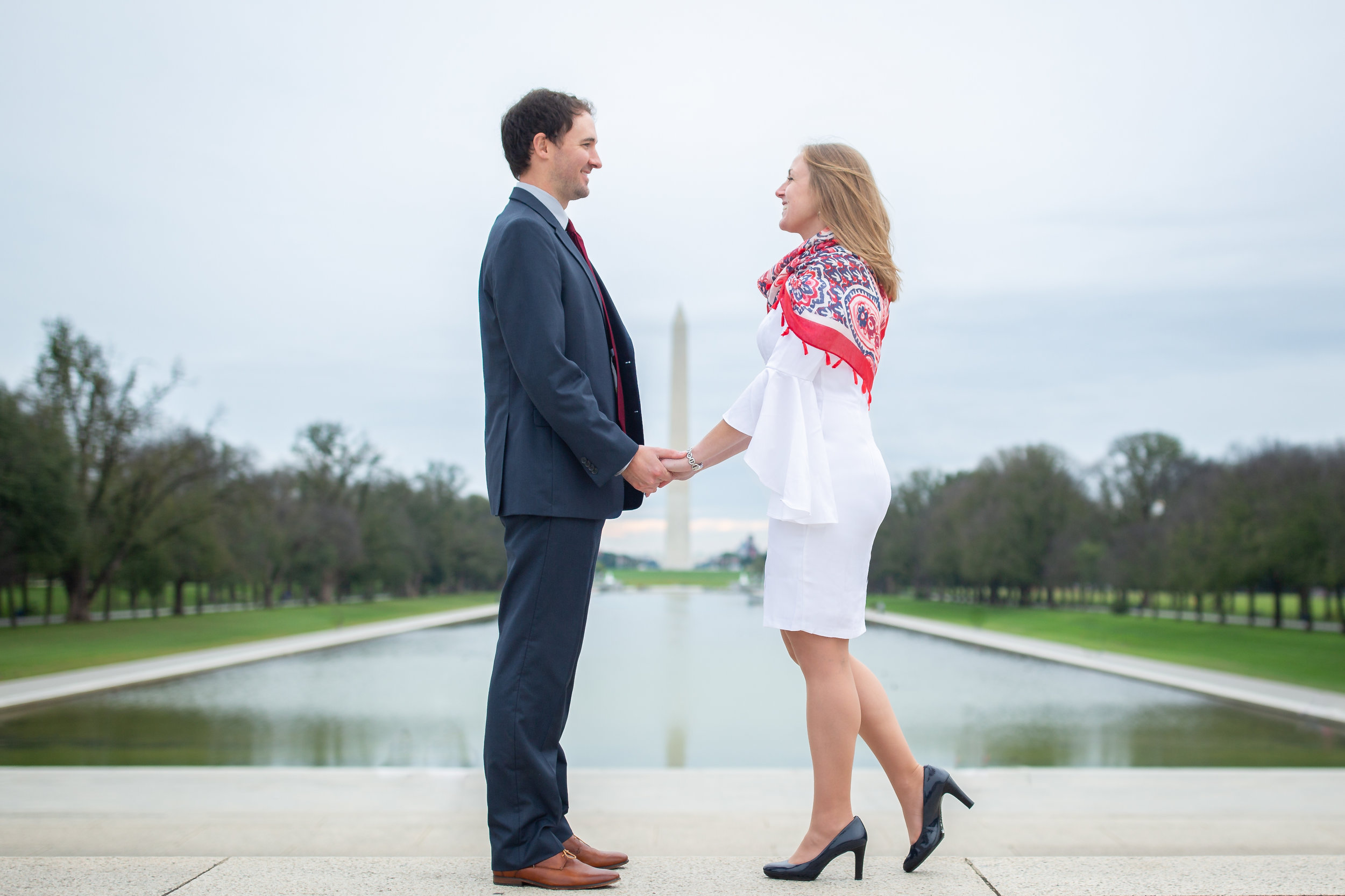 maryn graves dc engagement session