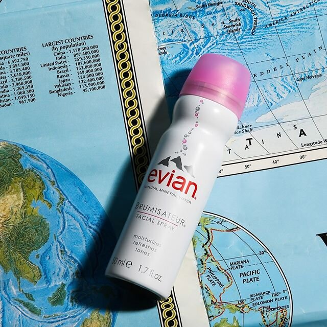 Daydreaming of travel plans and foreign lands. ?? Where has Evian Facial Spray traveled with you before?