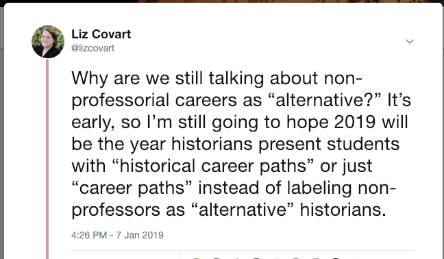 Career Path Tweet