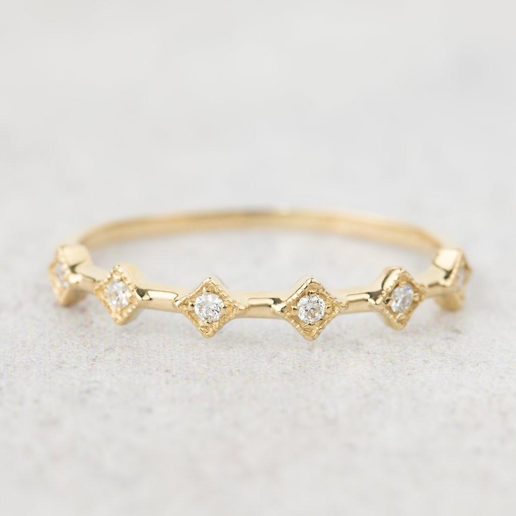Six Star Ring, $400. Image via Envero Jewelry.