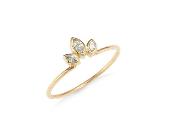 Marquis Fan Ring, $595. Image via Saks Fifth Avenue.
