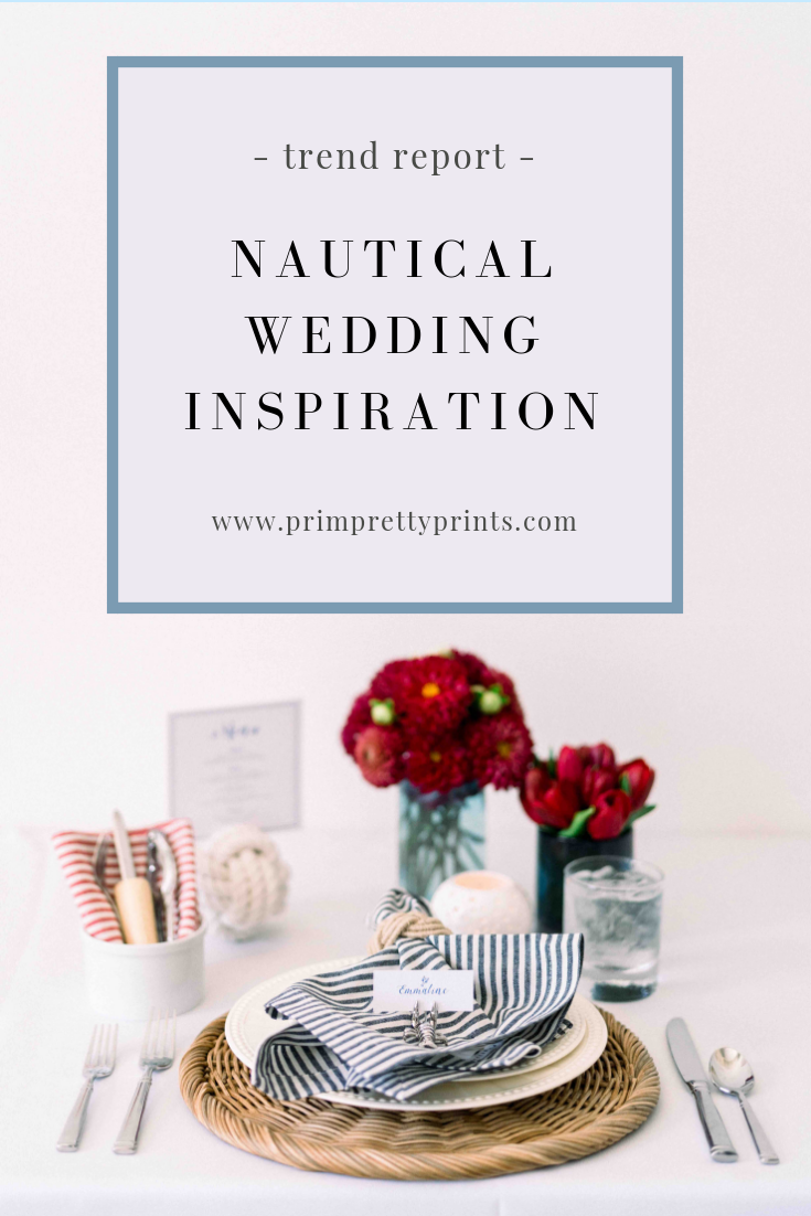 Nautical Tablescape and Wedding Inspiration.