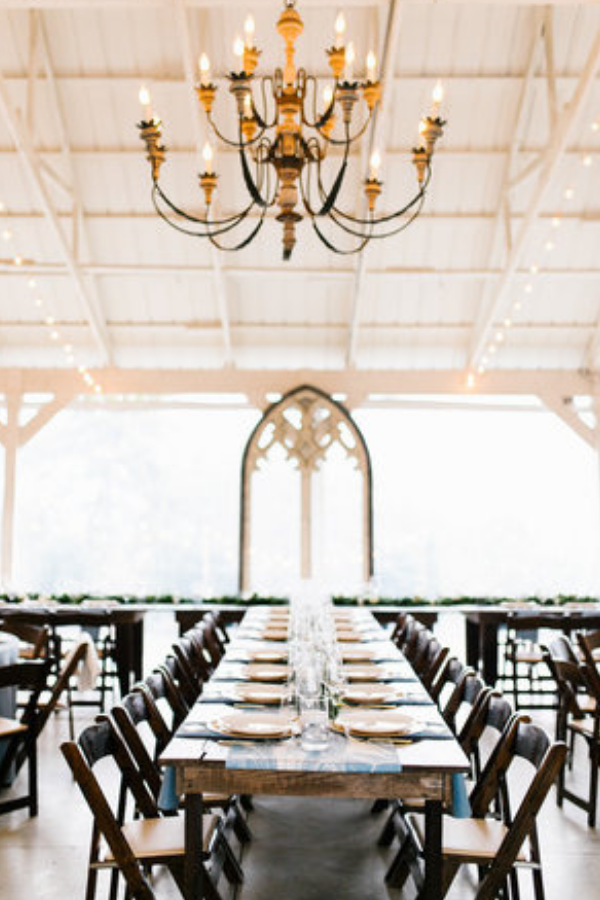 Reception at Front Porch Farms. Photo by Feiten Photography.