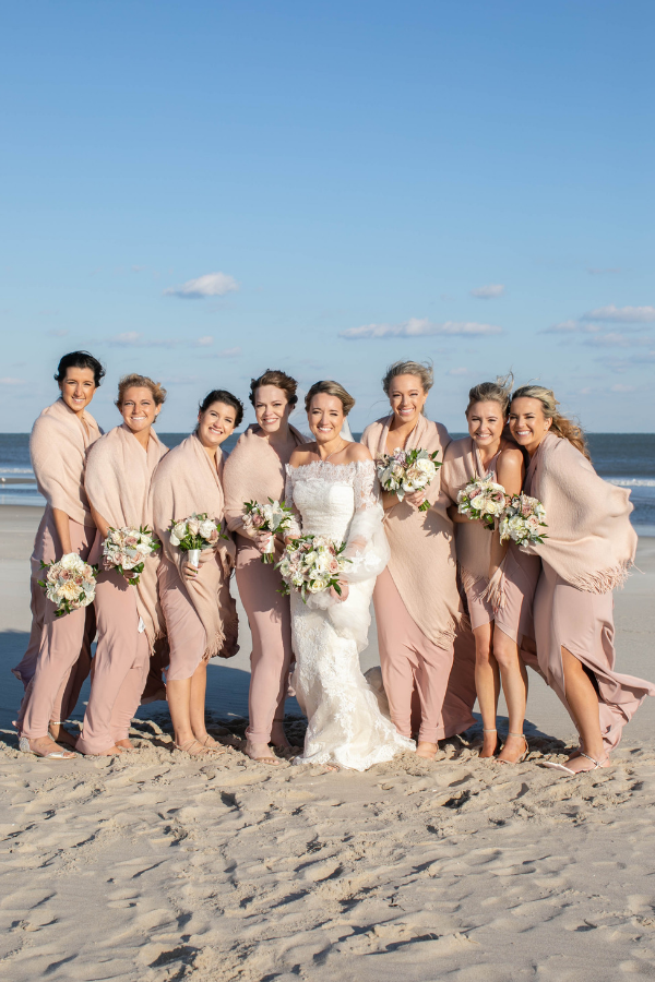 Real Wedding on Long Beach Island - Bride and Bridesmaids.png