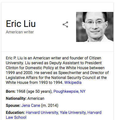Eric Liu | Vote | Powell Law Group