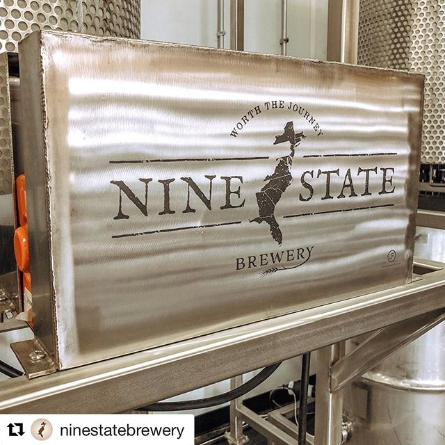 Congrats goes out to @ninestatebrewery for getting built out and ready to open. We built a very unique brew house for them and can't wait to see what fantastic beers they create on it!