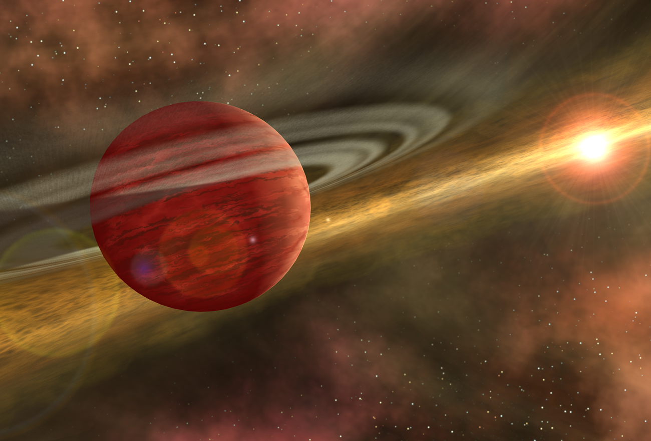 Out of the Dust, A Planet is Born (Artist Concept)  Credit: NASA/JPL-Caltech