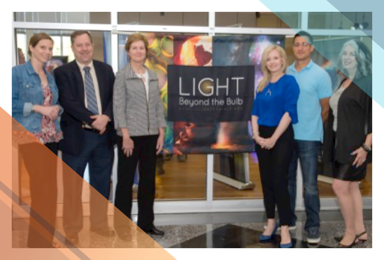 Six exhibit coordinators present LIGHT Beyond the Bulb exhibition at Columbia State Community College