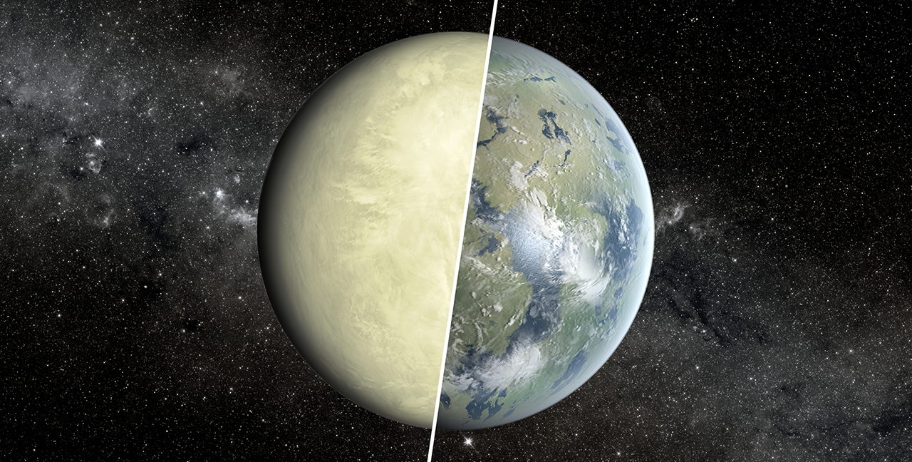 Sample topic image from a Science Briefing about the search for life