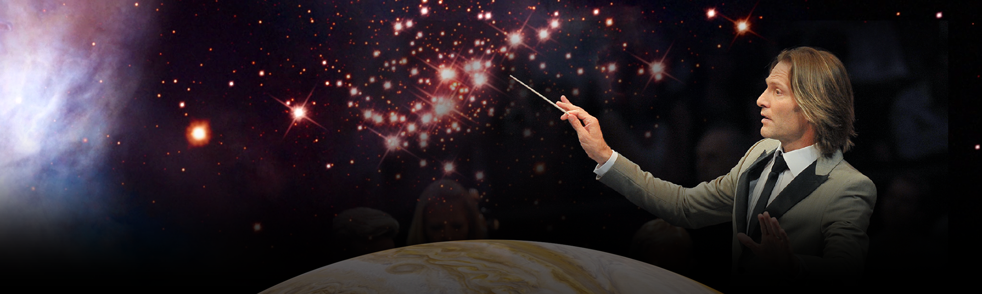 """Composer Eric Whitacre's Hubble-inspired symphony, """"Deep Field"""""""