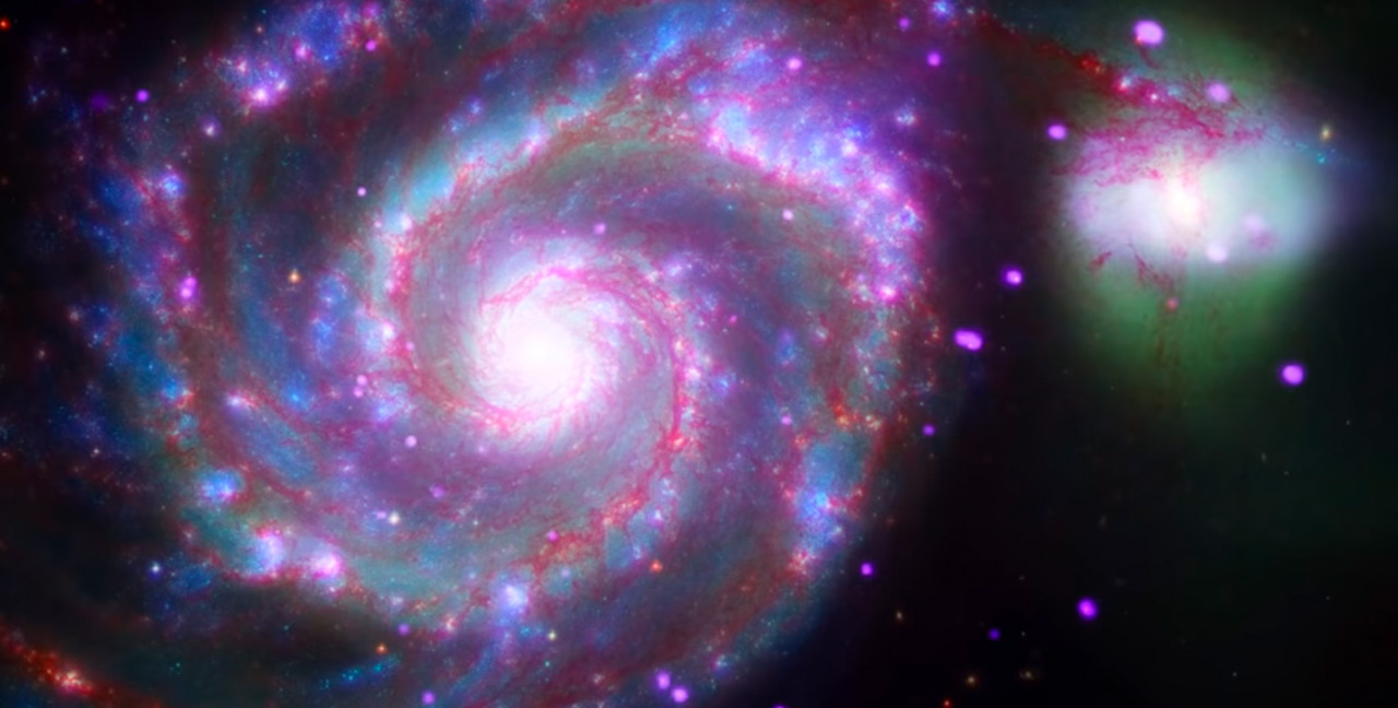 Whirlpool Galaxy video preview