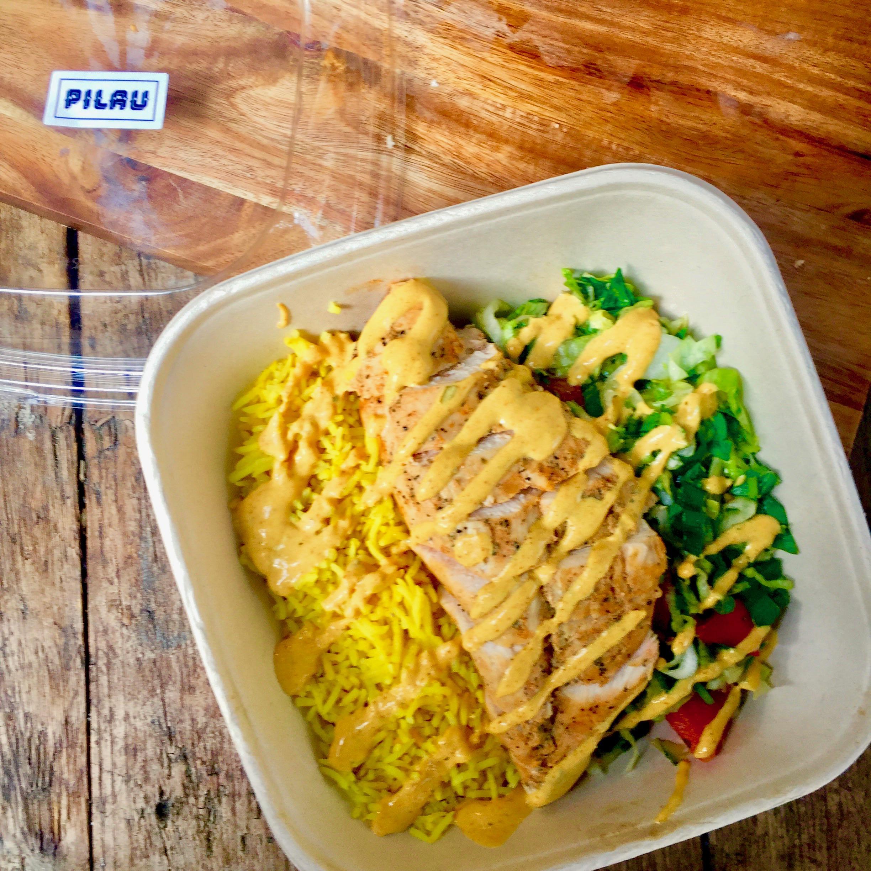 Chargrilled Chicken, Fresh Herbs, Tandoori Yogurt